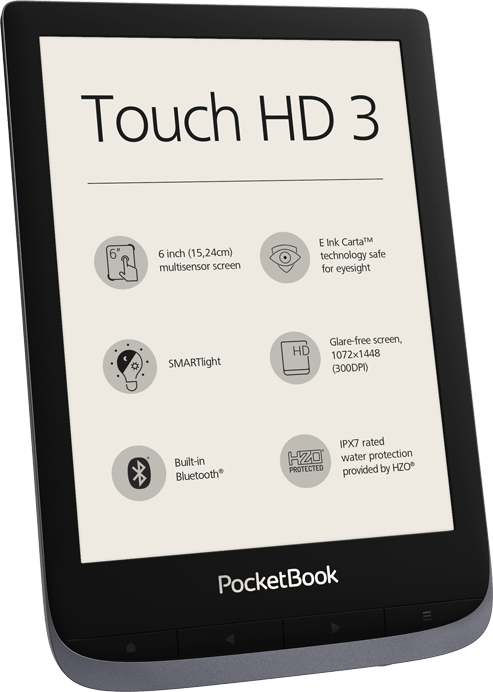 E-Reader Touch HD3 - 6 Zoll