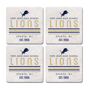 Legacy Home Collection- Coasters 4 Pack