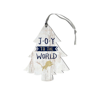 Legacy Holiday Collection- Wood Tree Ornament