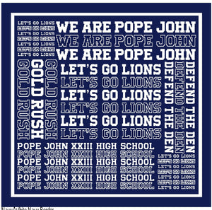 Knit Blanket- We Are Pope John
