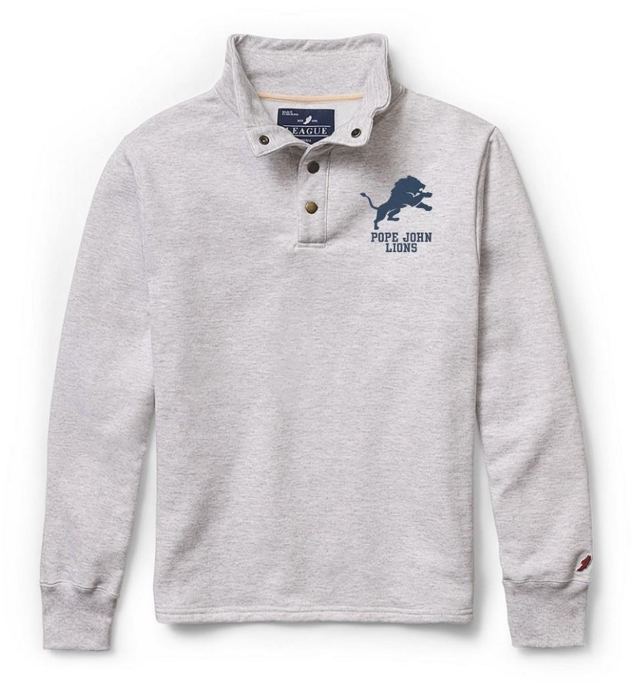 League The 1636 Fleece Collection- Snap Up