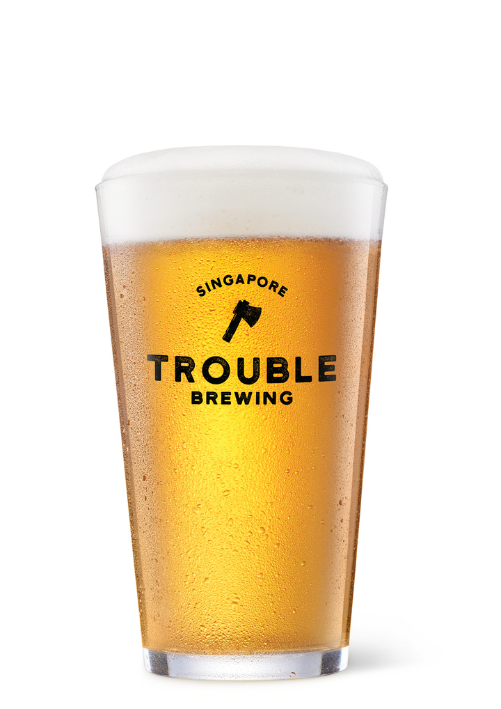 Trouble Brewing Glass - Trouble Brewing Store