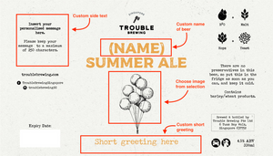 Personalised Trouble - Trouble Brewing Store