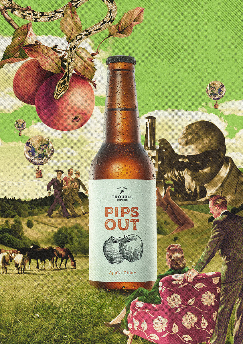Pips Out Apple Cider - Trouble Brewing Store