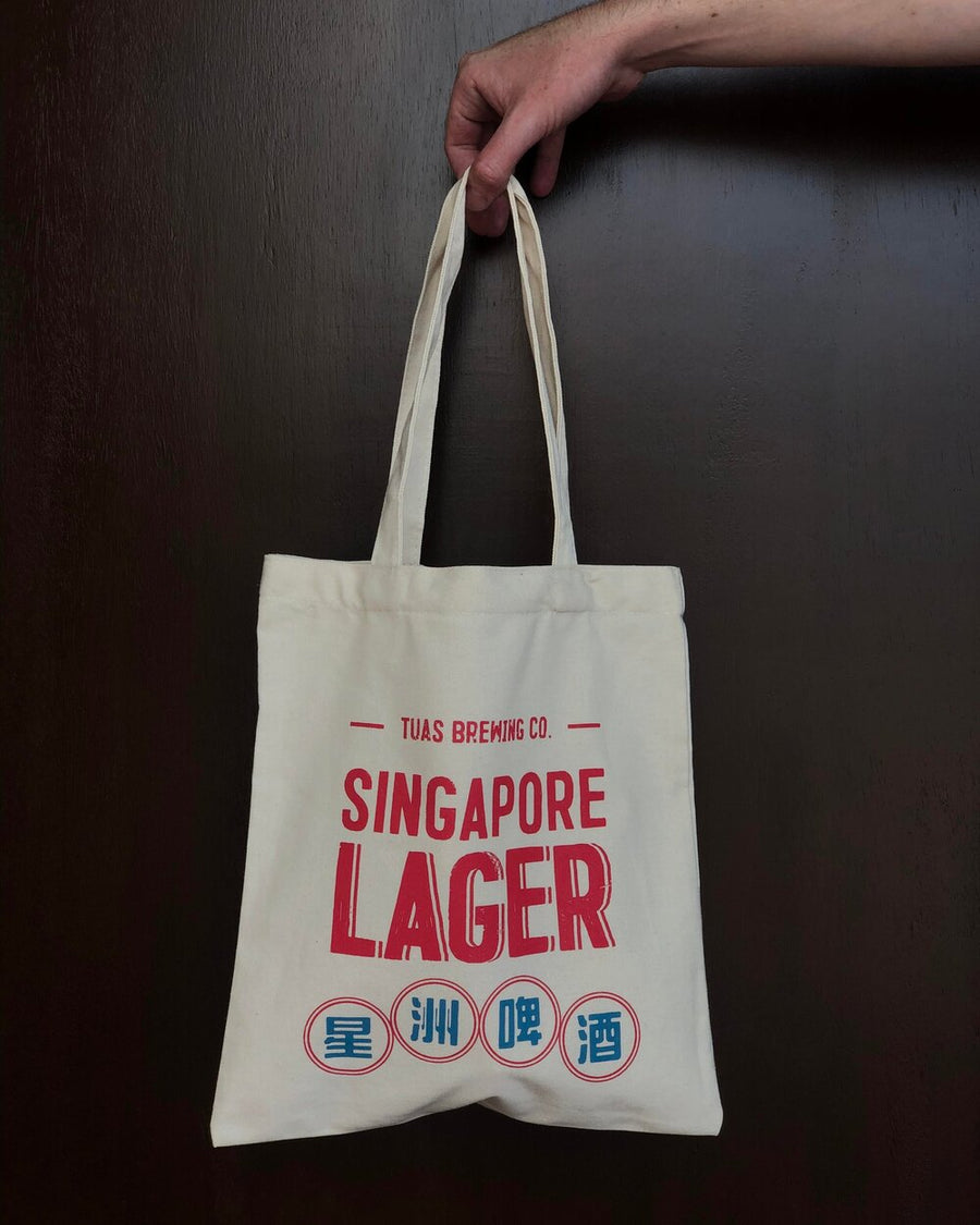 Singapore Lager Tote Bag - Trouble Brewing Store
