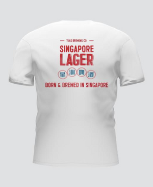 Singapore Lager T-shirt - Trouble Brewing Store