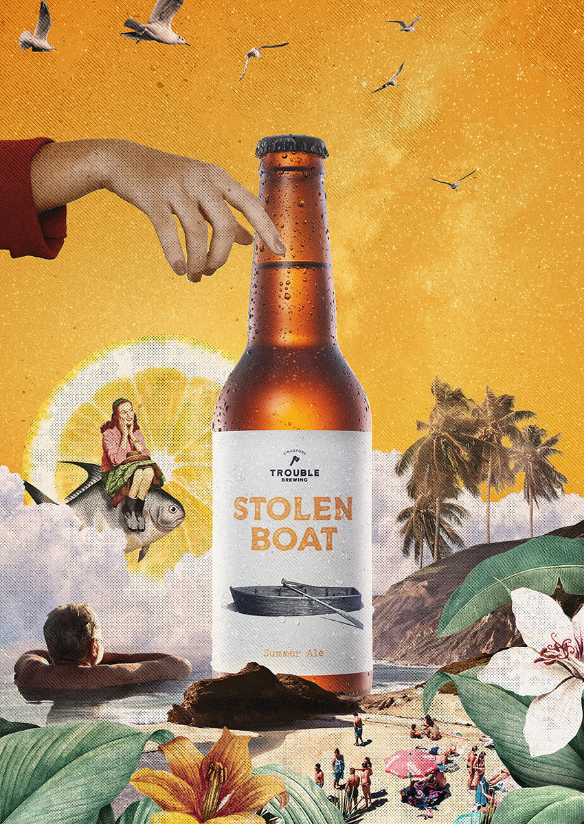 Stolen Boat Summer Ale - Trouble Brewing Store