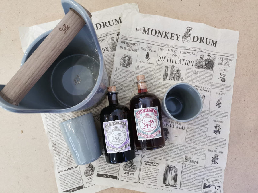 Monkey 47 Earthenware Party Kit - Trouble Brewing Store