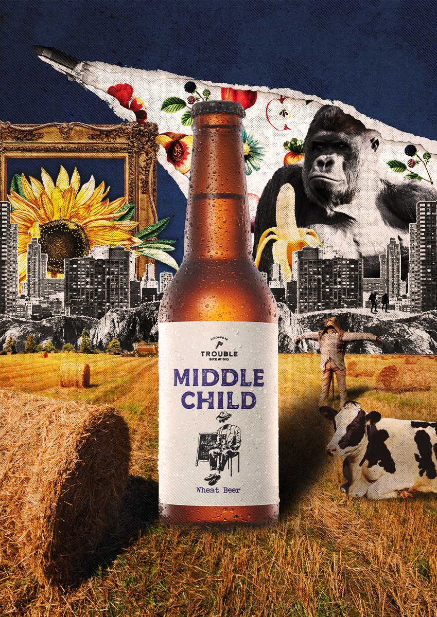 Middle Child Wheat Beer - Trouble Brewing Store