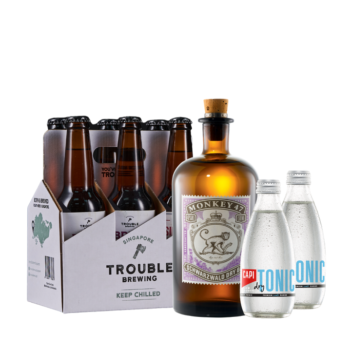 Monkey 47 Dry Gin Bundle - Trouble Brewing Store