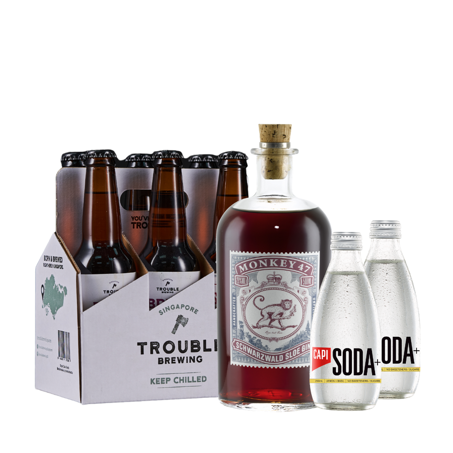 Monkey 47 Sloe Gin Bundle - Trouble Brewing Store