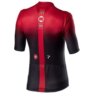 Jersey castelli ineos aero race 6.1 dark/red