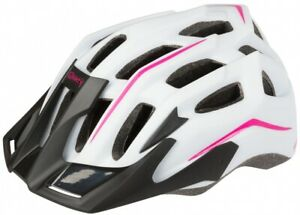 Casco Mighty White Hawk Blanco Mate rosado