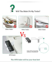Load image into Gallery viewer, Daisy-2C - Ultra Slim design - Self Cleaning Dual Nozzle Cold – SF Bidet