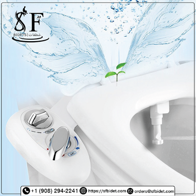 Jasmine-1H, Self Cleaning Single Nozzle Hot And Cold -SF Bidet