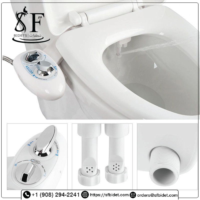 Jasmine-2H , Self Cleaning Dual Nozzle, Hot And Cold  – SFBidet