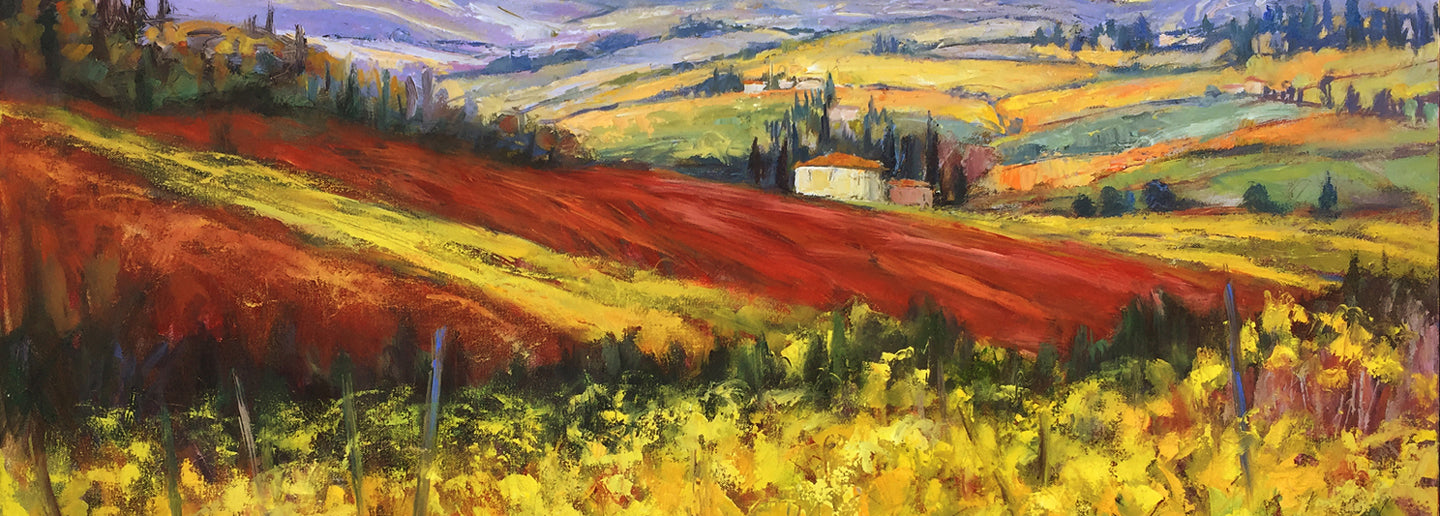 Tuscany oil painting
