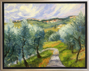 Through the Olive Grove, Lucca