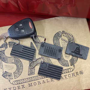 willys, jeep key, say again over, keychains, betsy ross, gadsden, american flag