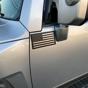 American Flag Magnet on FJ Cruiser
