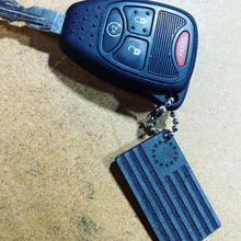 Load image into Gallery viewer, Jeep key, betsy ross keychain