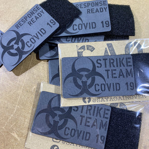 custom morale patch, COVID-19