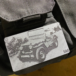 willys jeep morale patch