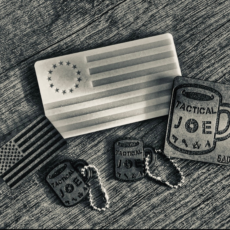 custom keychains, tactical joe