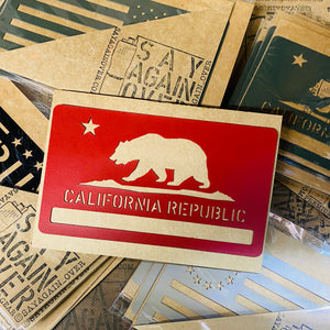 California Flag Morale Magnet