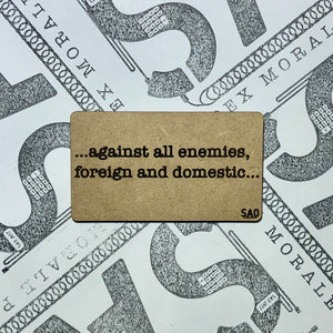 Against All Enemies Morale Patch
