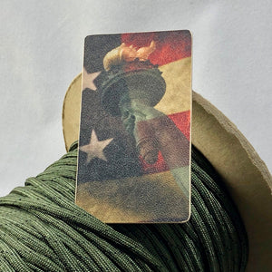 american flag, statue of liberty, morale patch, kydex patch
