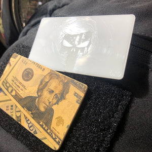 punisher patch and money patch