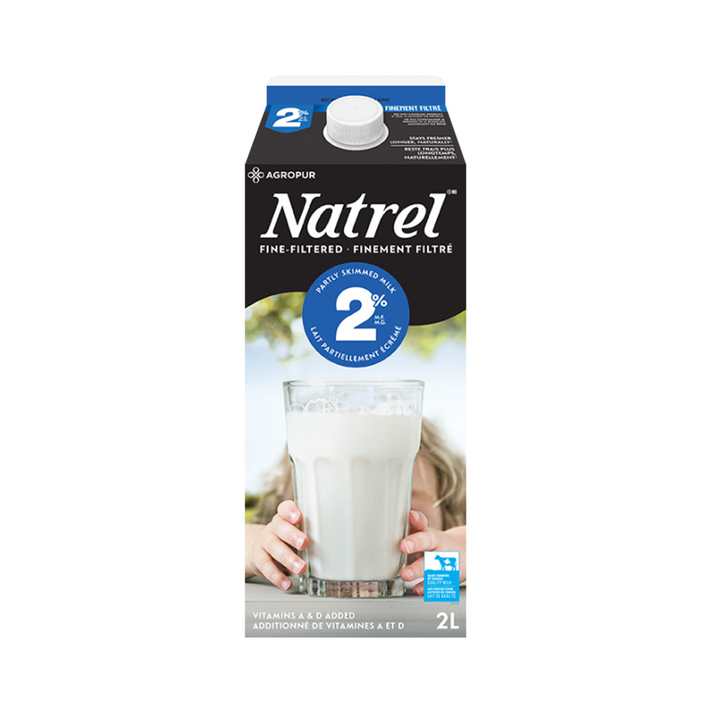 Agropur) Natrel Filtered Milk Partly Skim 2%