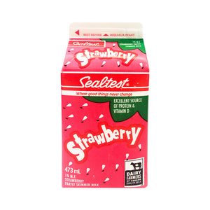 Agropur) Sealtest Strawberry Milk Partly Skim 1%