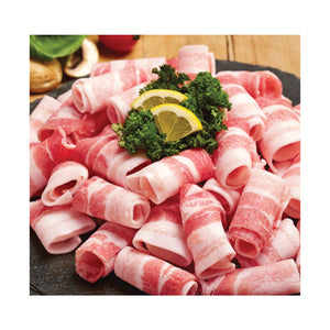 Frozen Thin Sliced Pork Belly 1 Pack