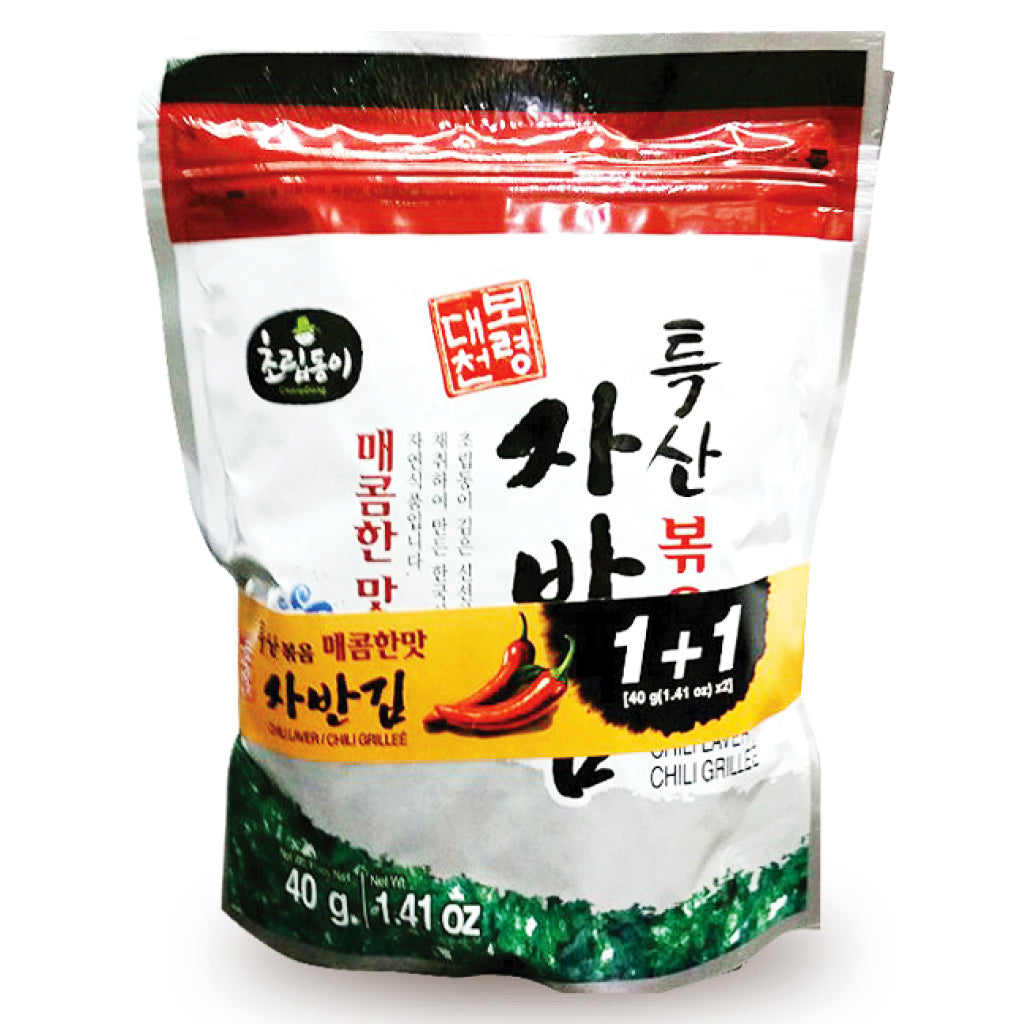 CRD) Roasted Seaweed Laver Spicy