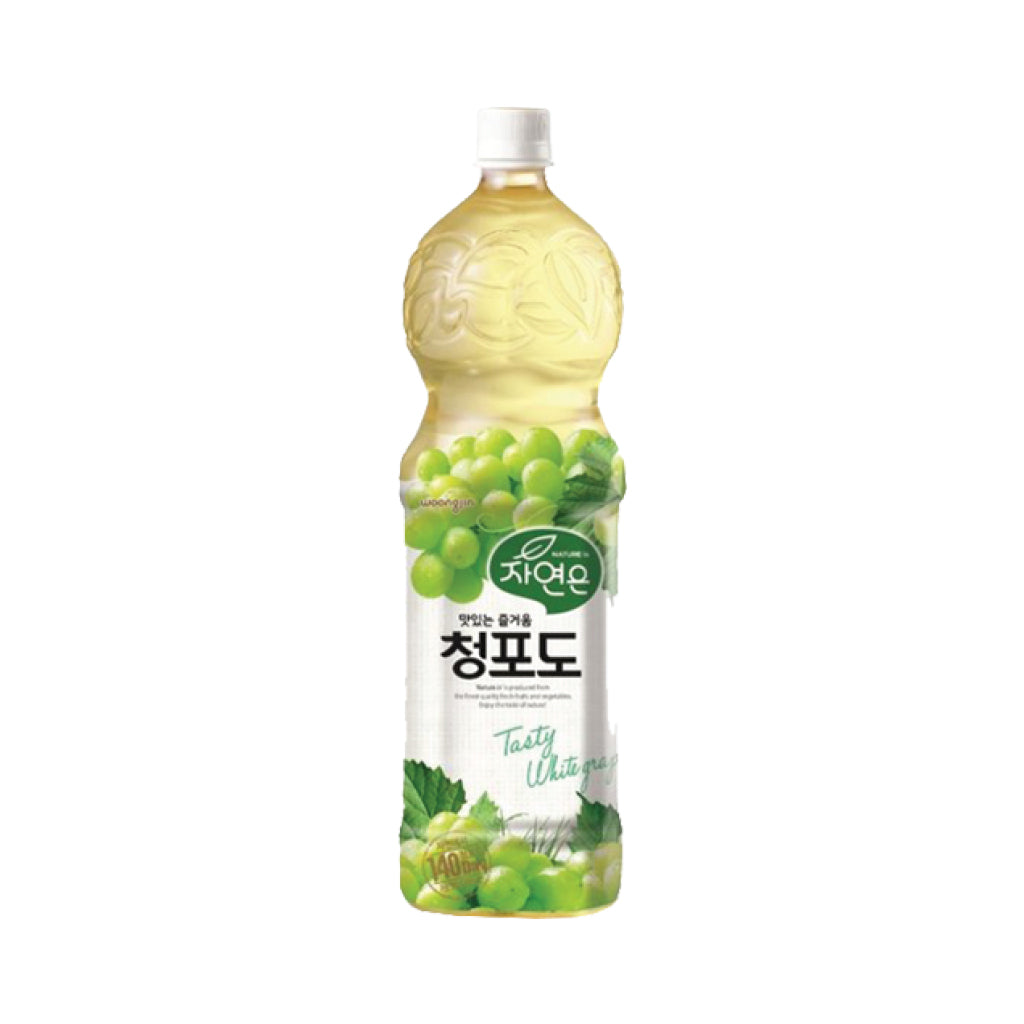 WJ) Nature Is Green Grapes Drink