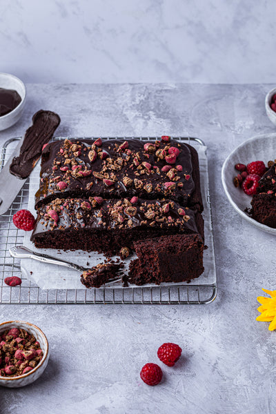 Just a good old-fashioned chocolate cake- that also happens to be vegan!