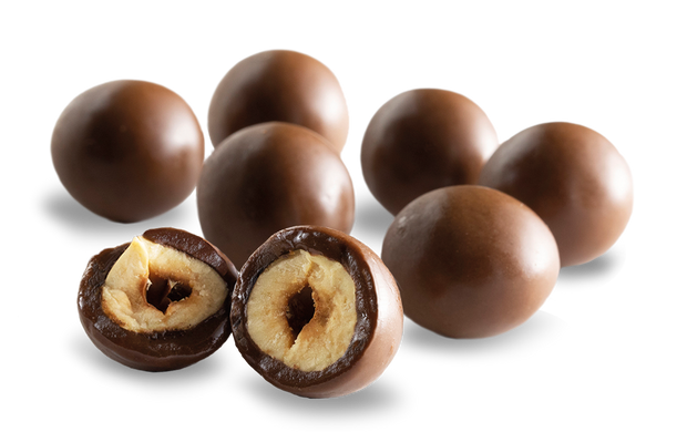 Buy Chocolate Covered Hazelnuts (Box of 12) - Vegan Snacks from Supernature