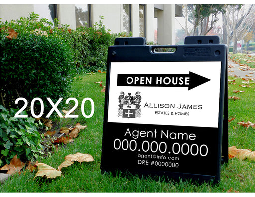 Allison James Homes & Estates 20x20 Open House with Plasticade Frame (ALL-2020P-1)