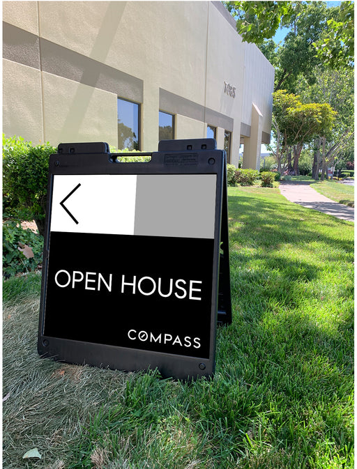 Compass 24x24 Open House with Plasticade Frame (COM-24x24P-2)