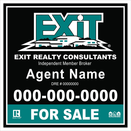 Exit 4x4 For Sale Outdoor Sign Board - MDO (EXT-44-1)