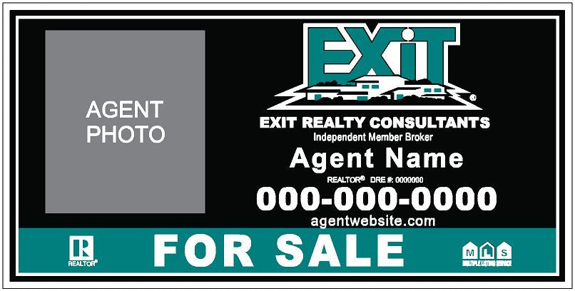Exit 4x8 Outdoor Sign Board - MDO (EXT-48-1)