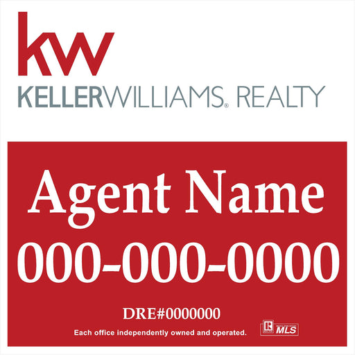 Keller Williams 24x24 Panel (KEL-2424-4)