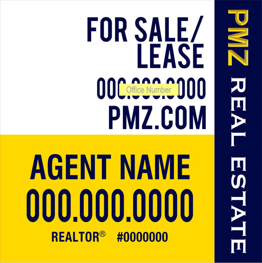 4x4 For Sale or Lease Outdoor Sign Board - MDO (PMZ-44-7)