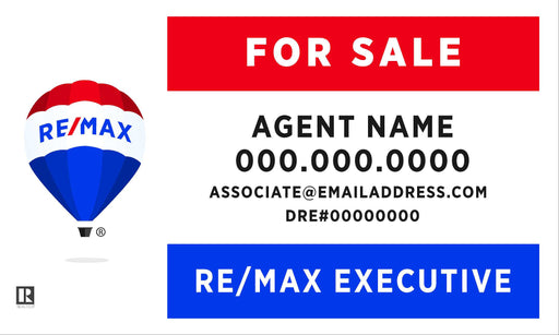 RE/MAX Executive 18x30 Panel (REMEX-1830-1)