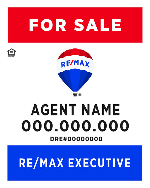 RE/MAX Executives 24x30 Panel (REMEX-2430-1)
