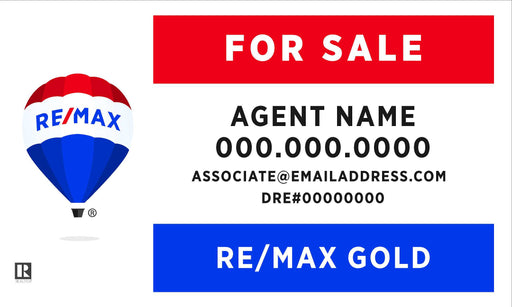 RE/MAX Gold 18x30 Panel (REMGO-1830-1)