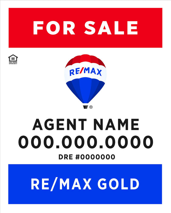 RE/MAX Gold 24x30 Panel (REMGO-2430-1)