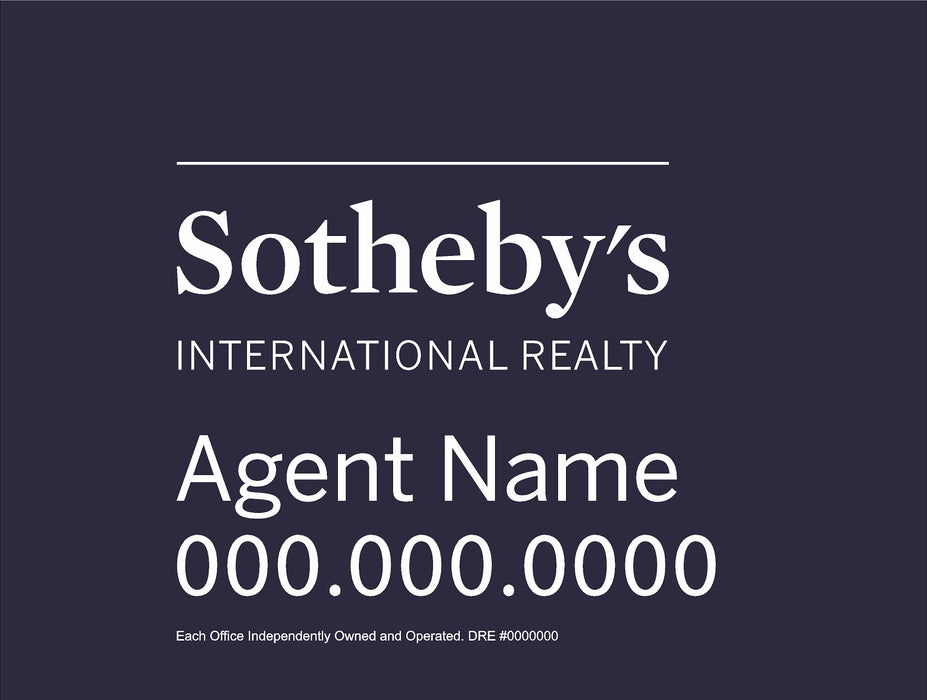 Sotheby's International Realty 18x24 Panel (SIR-1824-1)